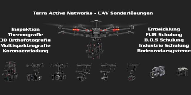 Drohnen, Insprektion undThermografie