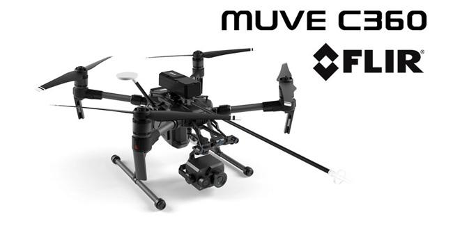 FLIR Gasdetektor für Drohnen